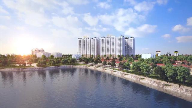 Hồ điều hòa rộng 20ha tại Hà Nội Homeland
